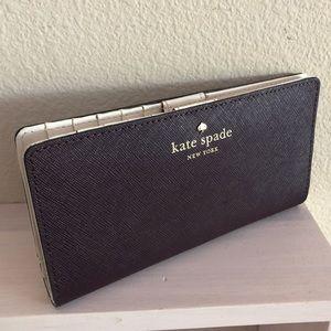 Kate Spade Plum Wallet Cute!